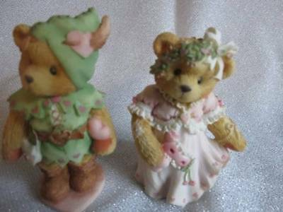 "Cherished Teddies ROBIN 'You Steal My Heart Away' & Marian ""You're The Hero Of M"