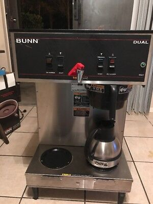 Bunn 20900.0008 Dual Brewer with Portable Servers - 120/208V, 5990W