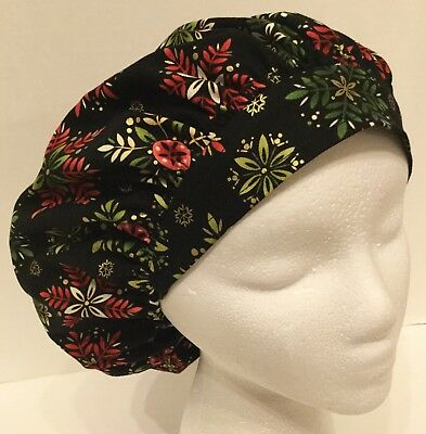 Christmas Size: Small Medical Bouffant OR Scrub Cap Surgery Hat