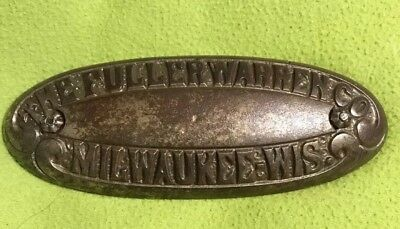 VTG ~ Stove Part ~ Cast Iron ~ The Fuller-warren Co. ~ Milwaukee Wis.