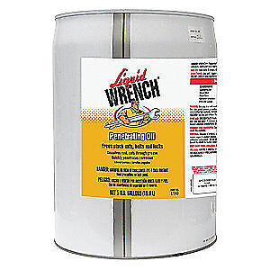 LIQUID WRENCH Penetrating Oil, 5 Gal., L140