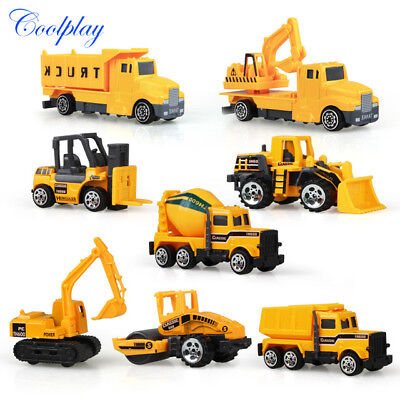 Construction Machine Toy Model Set Educational Equipment  Dozer Dump Truck Early