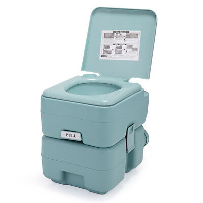 Portable Flush Toilet  20L 5 Gallon Travel Camping Outdoor/Indoor Commode Potty