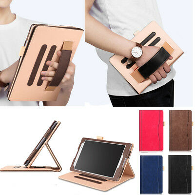 "PU Leather Folio Case Executive Wallet Stand Cover F 8"" Lenovo TAB4 8 TB-8504F/N"