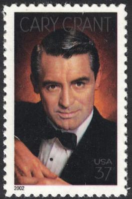 Scott 3692- Cary Grant, Legends of Hollywood- MNH (S/A) 37c 2002- unused mint