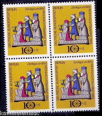 Germany Berlin 1969 MNH 1v Blk 4, Christmas, Festival Religion -   Rc2