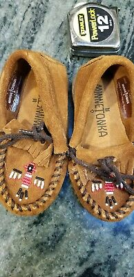 Indian moccasins child size took plenty of pctures