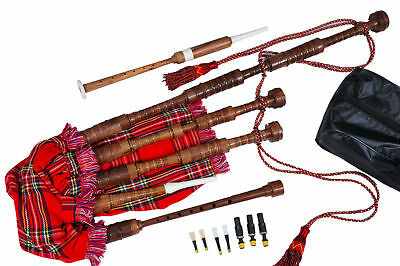Great Highland Bagpipes (Complete Beginners Package) with Booklet