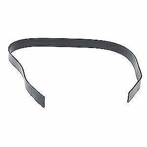 V-GARD Replacement Strap,Rubber,Black, 10117495, Black