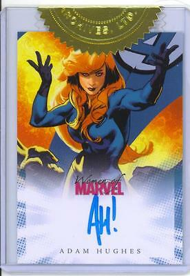 2008 Women of Marvel ADAM HUGHES Case Topper Incentive