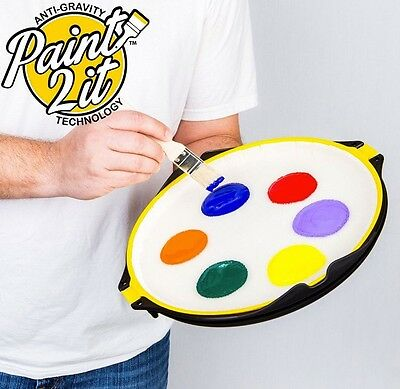 Non Spill Paint Trays by Paint2it Australia With Anti Gravity Technology.