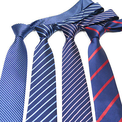 Mens Fashion Business Ties Casual Striped Necktie Men Many Occasion Accessories