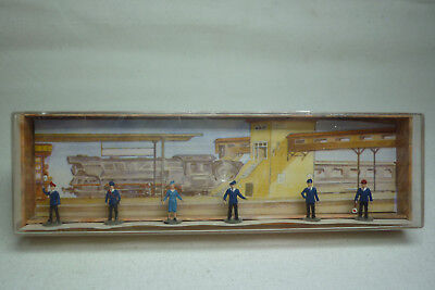 Vintage Merten Figuren Box - Spur N - Eisenbahnpersonal - Box 908 (1.fig-40)