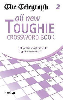 The Telegraph: All New Toughie Crossword Book 2 by The Telegraph (NF1)
