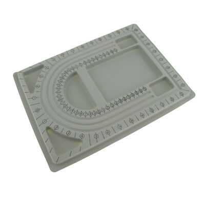 Plastic Bead Board Tray Beading Stringing Design Jewellery Tool 33 x 24 cm