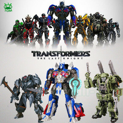 Transformers 5 The Last Knight Autobots Optimus Prime Action Figures Toys Boxed