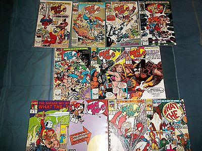 Lot of 11 Marvel What The...?! Comics 1 2 5 6 7 8 9 12 13 14 16