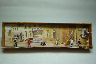 Vintage Merten Figuren Box - Spur N - Handwerker - Box 2258 (1.fig-51)