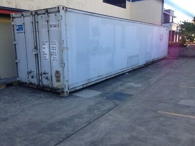 40Ft Shipping Container - Cold Store & Freezer