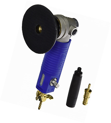 Gison GPW7 4-Inch Air Wet Stone Polisher 4500 Rpm with Front Exhaust