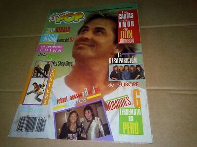 Pet Shop Boys Don Johnson Europe Madonna Sabrina Salerno Samantha Fox Sandra Ann