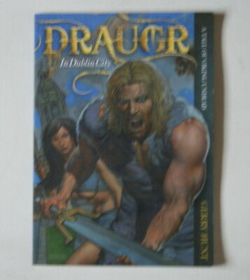 Draugr -In Dublin City Rare Irish Ireland Graphic Novel Viking New Ex Shop Comic