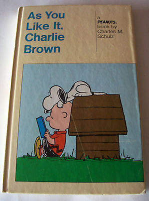 Mattel Charlie Brown Book - 2 Books In One - As You Like It, You've Had It