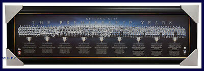 Geelong AFL The Premiership Years OFFICIAL Montage Print Framed Gary Ablett $249