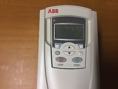 ABB Standard Inverter Drive ACS550-01-06A9-4 and control keypad