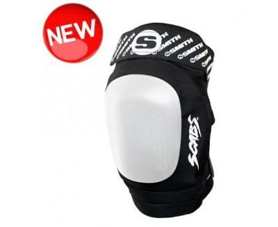 NEW Smith Scabs Elite II Black/ White Knee Pads