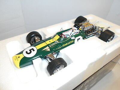 QTZ18203 by QUARTZO LOTUS 49 F1 #5 JIM CLARK 1967 1:18