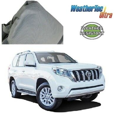 Car Cover Suits Toyota Prado 4WD SUV 4.66m to 5.1m WeatherTec Ultra Non Scratch