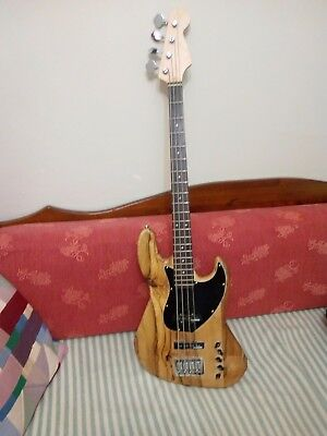 jazz bass from oz timbers, crafted in Australia
