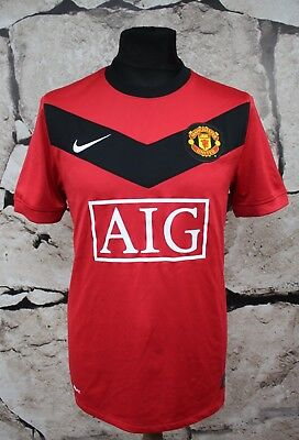 NIKE Manchester United Football Shirt 2009/2010 Home _ SIZE M _ (875)