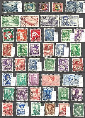 SWITZERLAND Pro Juventute - mainly fine used collection on - 40918