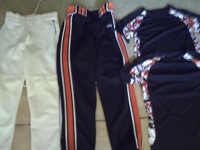Bn Baseball Tops And Bottoms - Med.- Youth