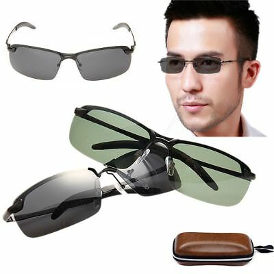 Polarized Sunglasses Men's Sports Sun Glasses Driving Mirror Goggle 100% UV 400