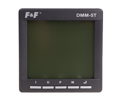 F&F DMM-5T Parameter Analysator - Multimeter - drei Phasen Netz Analyse - Strom
