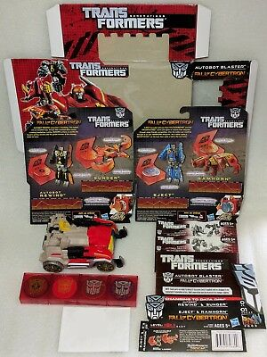 Transformers: Generations/Fall of Cybertron | Blaster + 5x Disc Minions |