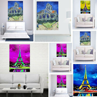 Abstract Art Unframed Modern Canvas Oil Painting Picture Print Home Wall Decor