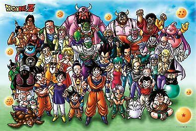 1000 piece jigsaw puzzle Dragon Ball Z ultra-large set! 50x75cm