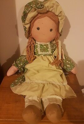 RARE Vintage Holly Hobbie AMY  Knickerbocker Doll  APP 65 cm Height