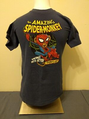 Cincinnati Zoo The Amazing Spider Monkey T-Shirt - Youth Size L Large Marvel