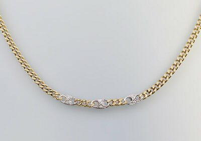 kette gold 585 edelstein 40cm nachlass eur 117 00 picclick de. Black Bedroom Furniture Sets. Home Design Ideas