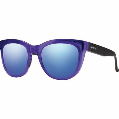 Smith Sidney Sunglasses - Women's Crystal Ultraviolet/Blue Flash Mirror One Size