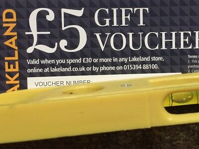 Lakeland Gift Voucher £5 off when you spend £30 in store, online or by phone.