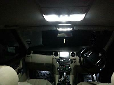 Land Rover Discovery 4 LR4 LED Xenon White Interior Lights Bulbs Kit