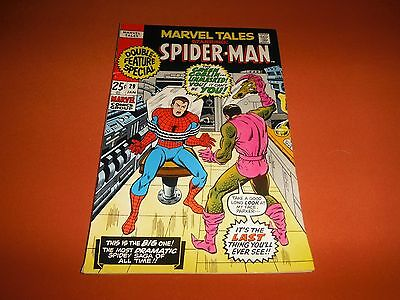 Marvel Tales Spider-Man Comic #29 Unread/VF* Double Issue (1971,Marvel )