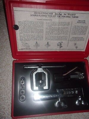 Blue Point/Snap-On No. TF-528-D Double-Flaring Tool Kit For Thin-Wall Tubing USA