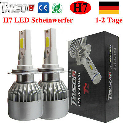110W 26000LM H7 Cree LED Scheinwerfer Auto Car Headlight Kit 6000K Weiß Birnen